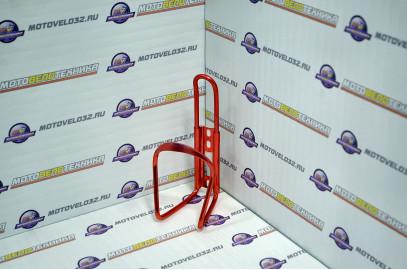 Крепление для велобочка алюминий цвет:красный