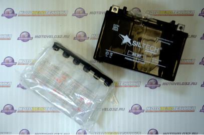 Аккумулятор 12V 9Ah SILTECH + электр. широкий