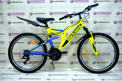 "Велосипед BLACK AQUA  Mount 1431 V 24"""