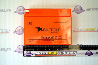 Аккумулятор 12V 3,2А SILTECH лежачий узк. 113*34*84/45