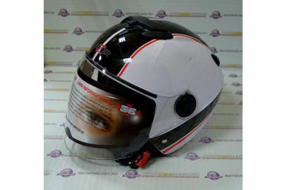Шлем открытый HIZER 217 белый S