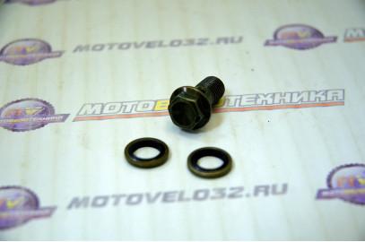 Болт гидравлический CNC М10 (+2 прокладки)