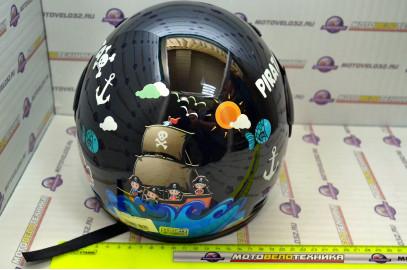 Шлем детский мото BLD-109