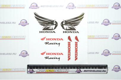 """Ком-т DSN 002 """"Хонда 02"""" виниловая (комплект 6 шт), размер 18*18см"""