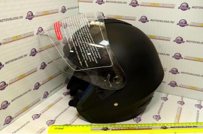 Шлем открытый MO 120 Black Mate M