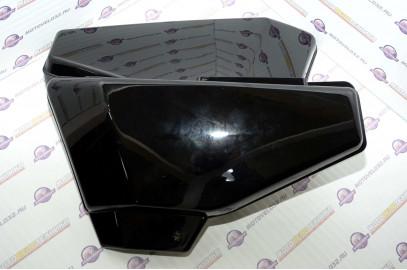 Щиток обл. боковой Мопед Orion Alpha комплект черный