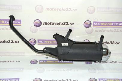 Глушитель 4Т 125-150см3 (цельный)