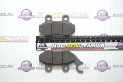 Колодки тормозные дисковые SYM JET50,100 (FDB2190)
