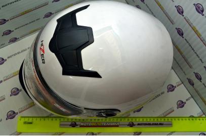 Шлем интеграл HIZER 523 белый S