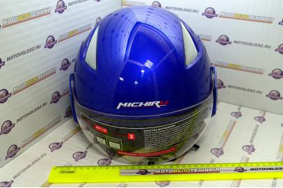 Шлем открытый MO 130 blue M
