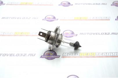 Лампа 12V18/18W H4 с улучшенным фокусом галоген прозрачная SM