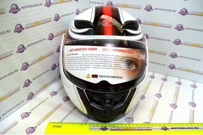 Шлем модуляр HIZER 620 (M) #2 white