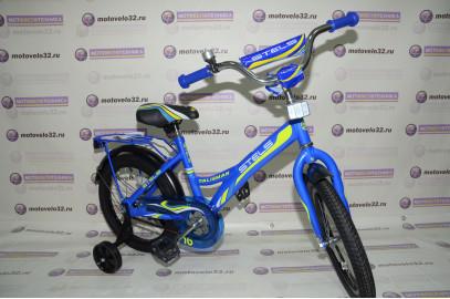"Велосипед Stels Talisman 16"" с хром щитками"