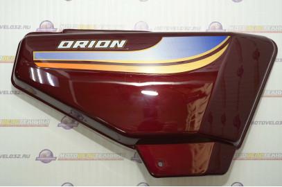 Щиток обл. боковой Мопед Orion Alpha правый бардовый