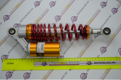 Амортизатор задний Мопед Alpha, Delta газовый с подкачкой