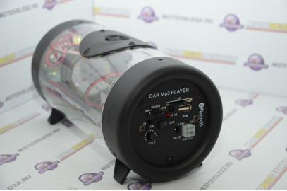 Аудиосистема для мототехники (сабвуфер, MP3, ПДУ) SUB133-LED