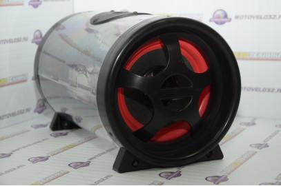 Аудиосистема для мототехники (сабвуфер, MP3, ПДУ) SUB166-LED