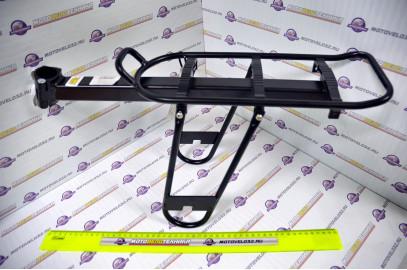 """Багажник 24- 28"""" алюминевый на подседельный штырь консольного типа"""