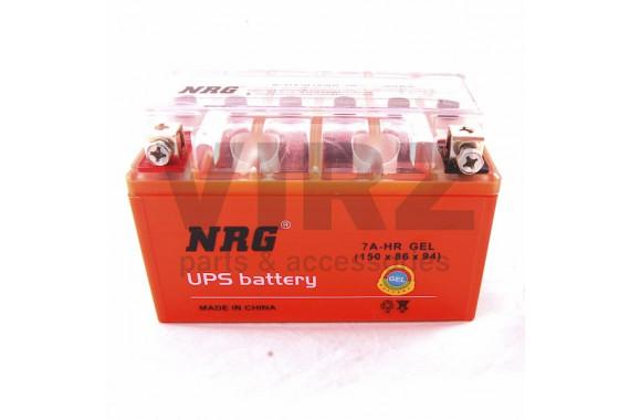 Аккумулятор 12V 7Ah NRG оранжевый (150х86х94)