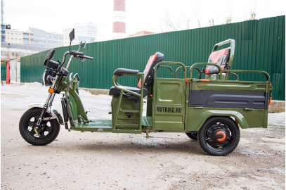Грузовой электротрицикл Rutrike Вояж-П 1200 Трансформер 60V800W