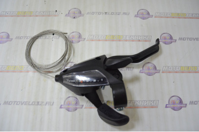 Шифтер/торм.ручка ST-EF50-7R(LL)2A черная 7ск.(ALTUS)