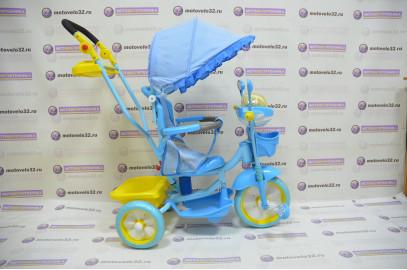 Велосипед Мультяшка Мишка с амортизатором