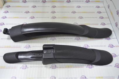 """К-т щитков на 26"""" пластиковых черных раздвижных GW-3029-52"""