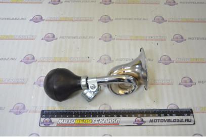 Велозвонок (клаксон стальной гнутый 1 рожок)