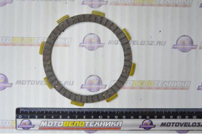Диски сцепления (компл. 6шт) двиг. CG200  SM-PARTS