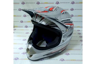 Шлем кросс BLD-819 с визором
