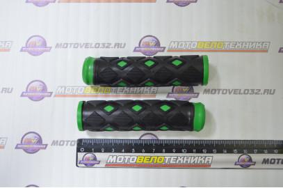 Ручки руля (грипсы L -120мм) в ромбик