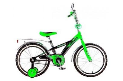 """Велосипед BLACK AQUA  Hot-Rod 18"""" цветные покрышки"""