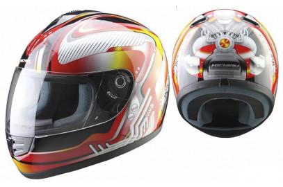 Шлем интеграл MI 120 Mechanics Red S