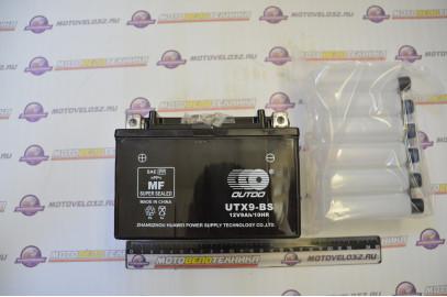 Аккумулятор 12V 9Ah OUTDO сухозаряженный (150х87х105)