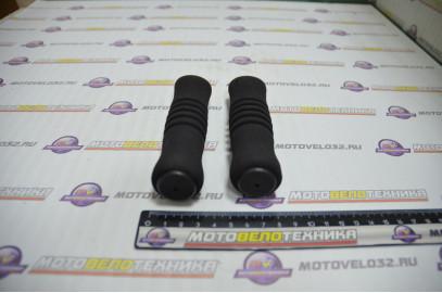 Ручки руля (грипсы L-125мм черные)