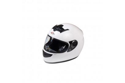 Шлем интеграл HIZER 523 белый M
