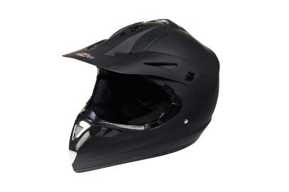 Шлем кросс HIZER 610 черный матовый M