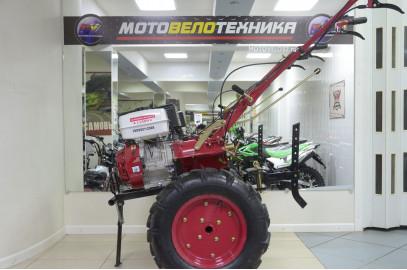 Мотоблок МБ1100N-15 бенз.с фрез.10сек.5,00-12 русск.сцепка
