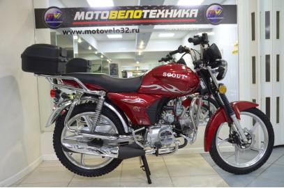 """Мопед  Alpha """"Scout"""" 50cc R17 кофр"""