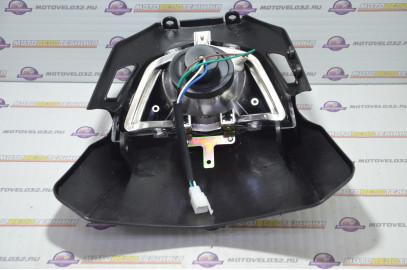 Блок-фара передняя B-018 кросс черная