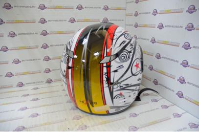 Шлем интеграл HIZER 501 белый M