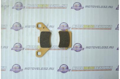 Колодки тормозные дисковые №5 X-TECH (semi-metallic)