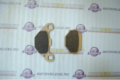 Колодки тормозные дисковые №10 ATV X-TECH (semi-metallic)
