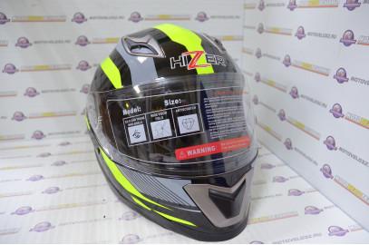 Шлем интеграл HIZER B562 (S) #1 black/yellow