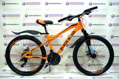 "Велосипед BLACK AQUA  Cross 2482 D 24"""