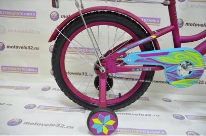 "Велосипед BLACK AQUA  Lady 18"""