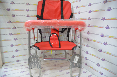Сиденье для перев. детей JL-189 красное