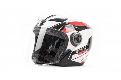 Шлем открытый HIZER 219 белый L