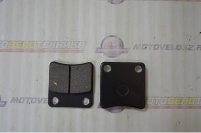 Колодки тормозные (диск) Скутер DIO50
