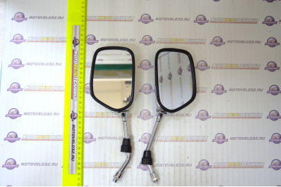 Комплект зеркал заднего вида ZX-229 d=10мм